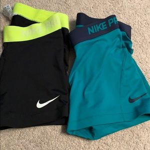 Dry fit nike gym shorts